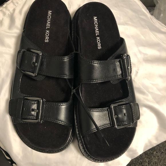 Michael Kors Shoes   Black Mens Sandals